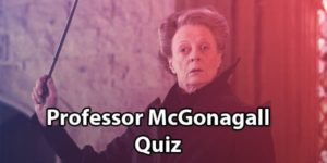 Minerva McGonagall quiz and trivia
