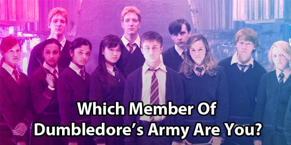 Which Dumbledore's Army Member Are You?