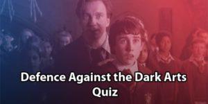Defence Against the Dark Arts Quiz